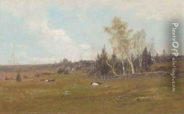 Over the Hills and Far Away Oil Painting - Edward B. Gay