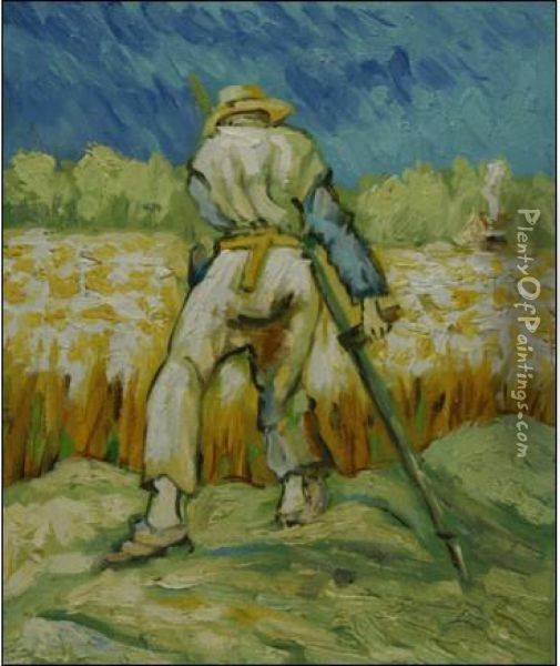 The Reaper Oil Painting - Vincent Van Gogh