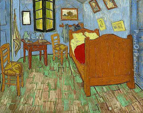 The Bedroom Oil Painting - Vincent Van Gogh
