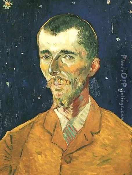 Portrait Of Eugene Boch Oil Painting - Vincent Van Gogh