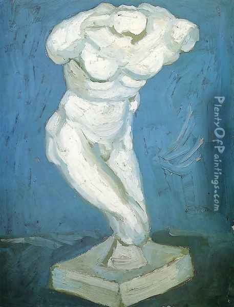 Male Nude I Oil Painting - Vincent Van Gogh