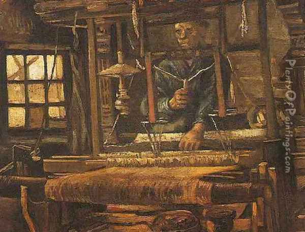 Weaver Seen From The Front II Oil Painting - Vincent Van Gogh