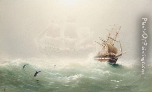 The Flying Dutchman Oil Painting - Charles Temple Dix